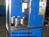 Doornenwasmachine