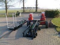 Duwer Deense karren hydraulisch
